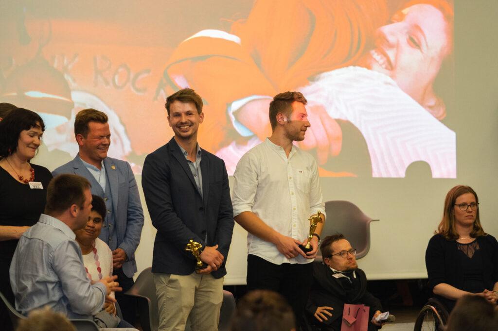 Marcus Lange bei der Premiere seines OBA-Films
